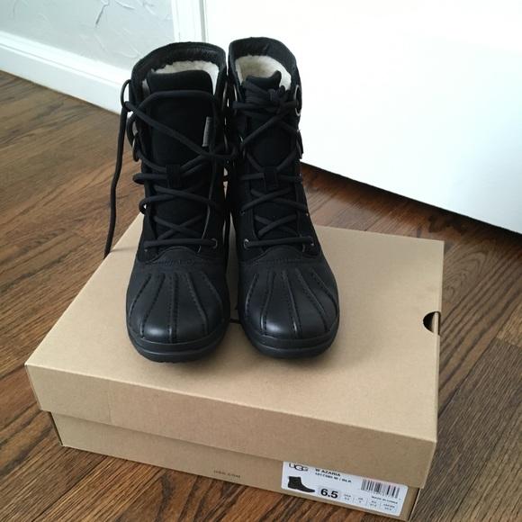 0c3dda3beb9 UGG Shoes   New Waterproof Azaria Duck Boots   Poshmark